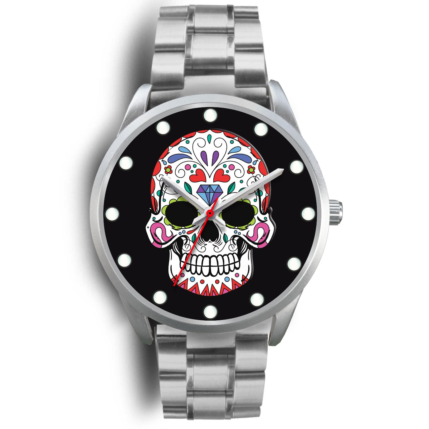Mucho - Sugar Skull Watch
