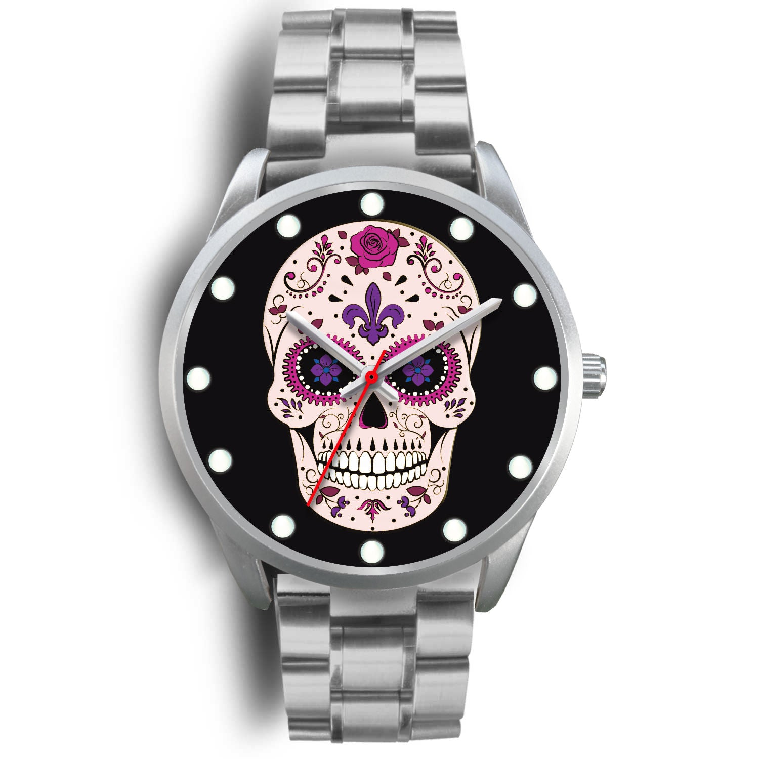 Javier - Sugar Skull Watch