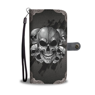 Dark Skulls Prime Wallet Phone Case-Wallet Case-wc-fulfillment-SKULLZOPHRENIA