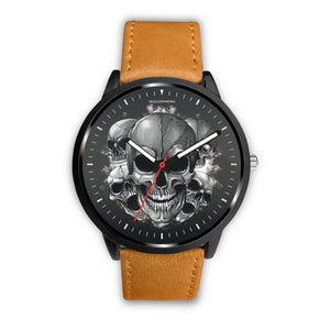 Dark Skulls Prime Watch-Watch-wc-fulfillment-Mens 40mm-Brown-SKULLZOPHRENIA