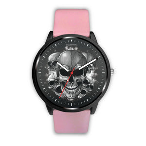 Dark Skulls Prime Watch-Watch-wc-fulfillment-Mens 40mm-Pink-SKULLZOPHRENIA