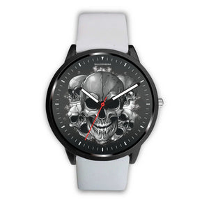 Dark Skulls Prime Watch-Watch-wc-fulfillment-Mens 40mm-White-SKULLZOPHRENIA