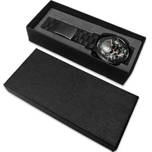 Load image into Gallery viewer, Dark Skulls Watch-Watch-wc-fulfillment-Mens 40mm-Metal Link-SKULLZOPHRENIA