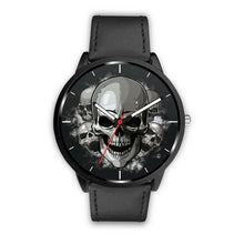 Load image into Gallery viewer, Dark Skulls Watch-Watch-wc-fulfillment-Mens 40mm-Black-SKULLZOPHRENIA