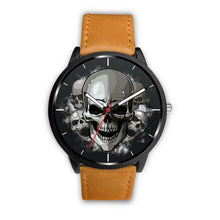 Load image into Gallery viewer, Dark Skulls Watch-Watch-wc-fulfillment-Mens 40mm-Brown-SKULLZOPHRENIA
