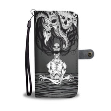 Load image into Gallery viewer, Downbeat V2 Skull Wallet Phone Case-Wallet Case-wc-fulfillment-SKULLZOPHRENIA