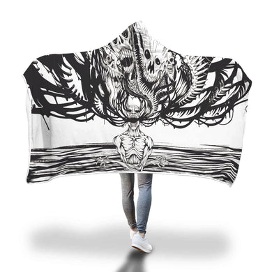 Downbeat™ Hooded Blanket-Hooded Blanket-wc-fulfillment-SKULLZOPHRENIA