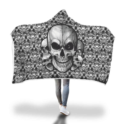 Hakari™ Hooded Blanket-Hooded Blanket-wc-fulfillment-SKULLZOPHRENIA