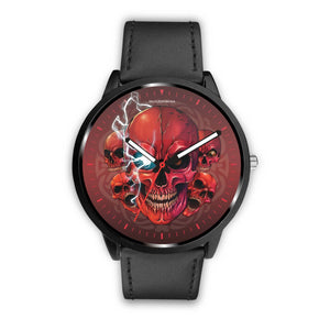[Limited Edition] Mad Conqueror™ Skull Watch-Watch-wc-fulfillment-Mens 40mm-Black-SKULLZOPHRENIA