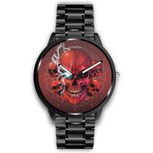 Load image into Gallery viewer, [Limited Edition] Mad Conqueror™ Skull Watch-Watch-wc-fulfillment-Mens 40mm-Metal Link-SKULLZOPHRENIA