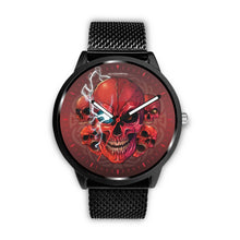 Load image into Gallery viewer, [Limited Edition] Mad Conqueror™ Skull Watch-Watch-wc-fulfillment-Mens 40mm-Metal Mesh-SKULLZOPHRENIA