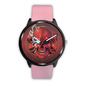 [Limited Edition] Mad Conqueror™ Skull Watch-Watch-wc-fulfillment-Mens 40mm-Pink-SKULLZOPHRENIA