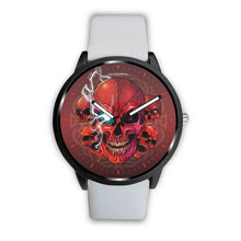 Load image into Gallery viewer, [Limited Edition] Mad Conqueror™ Skull Watch-Watch-wc-fulfillment-Mens 40mm-White-SKULLZOPHRENIA