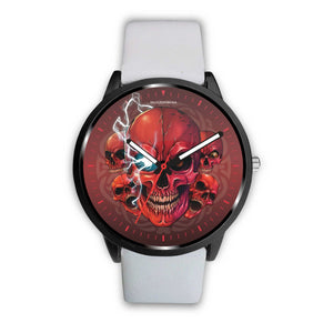 [Limited Edition] Mad Conqueror™ Skull Watch-Watch-wc-fulfillment-Mens 40mm-White-SKULLZOPHRENIA