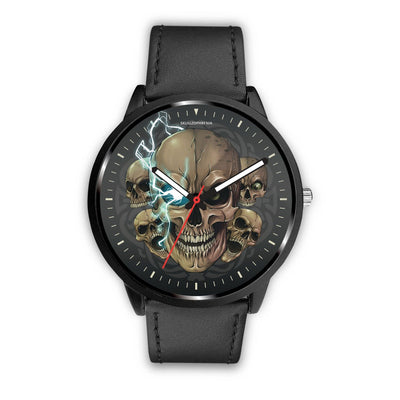 [Limited Edition] Mad Emperor™ Skull Watch-Watch-wc-fulfillment-Mens 40mm-Black-SKULLZOPHRENIA