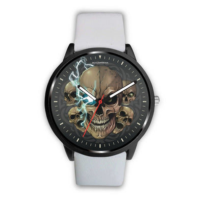 [Limited Edition] Mad Emperor™ Skull Watch-Watch-wc-fulfillment-Mens 40mm-White-SKULLZOPHRENIA