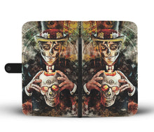 Load image into Gallery viewer, Man Of The Dead Wallet Phone Case-Wallet Case-wc-fulfillment-SKULLZOPHRENIA