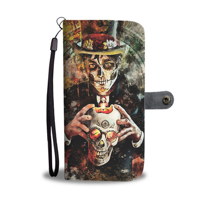 Man Of The Dead Wallet Phone Case-Wallet Case-wc-fulfillment-SKULLZOPHRENIA