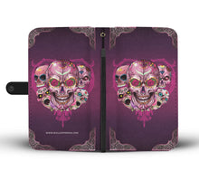 Load image into Gallery viewer, Prime Sugar Skull Wallet Phone Case-Wallet Case-wc-fulfillment-SKULLZOPHRENIA