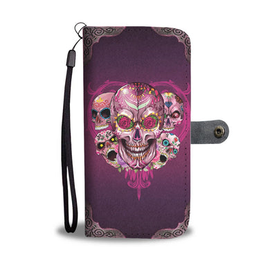 Prime Sugar Skull Wallet Phone Case-Wallet Case-wc-fulfillment-SKULLZOPHRENIA