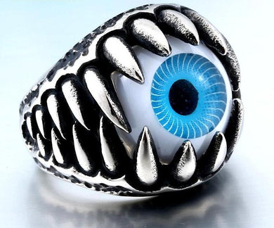 Vivid Claw Eye Ring