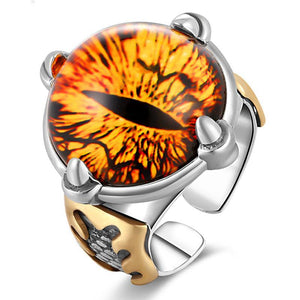 Yellow Chronic Vision - Silver Ring