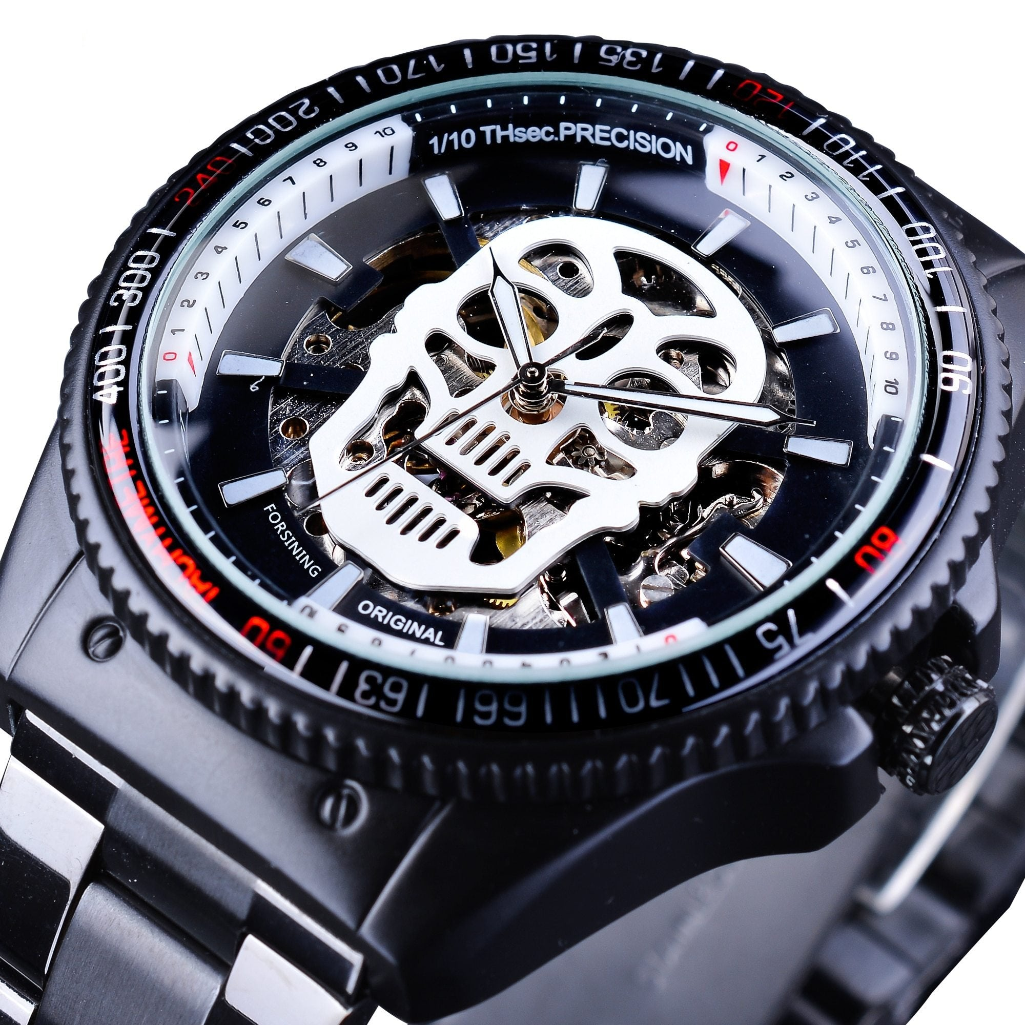 Blackstand™ FORSINING Mechanical Skull Watch