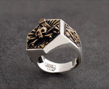 Load image into Gallery viewer, Freemason Totem Ring