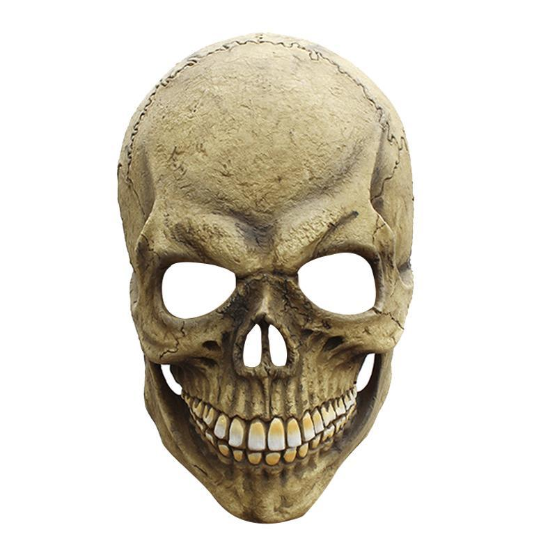 Golden Skull Mask