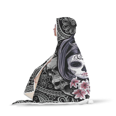 SkullaVera™ Hooded Blanket-Hooded Blanket-wc-fulfillment-SKULLZOPHRENIA