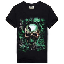 Load image into Gallery viewer, Smoking Nightmare - Skull Tee-tee-SKULLZOPHRENIA-SKULLZOPHRENIA