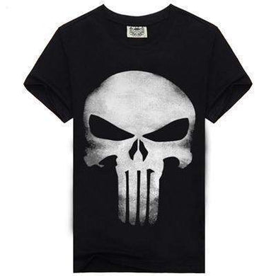 The Punisher Tee-tee-SKULLZOPHRENIA-TXSMT50-XL-SKULLZOPHRENIA