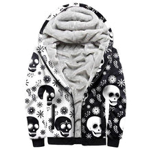 Load image into Gallery viewer, Skull Divide Winter Hoodie