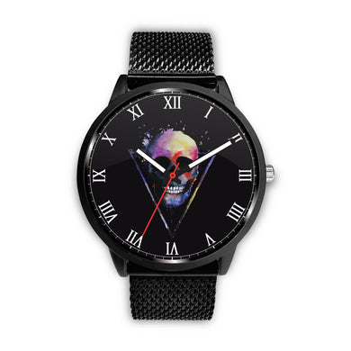 XV™ Skull Watch-Watch-wc-fulfillment-Mens 40mm-Metal Mesh-SKULLZOPHRENIA