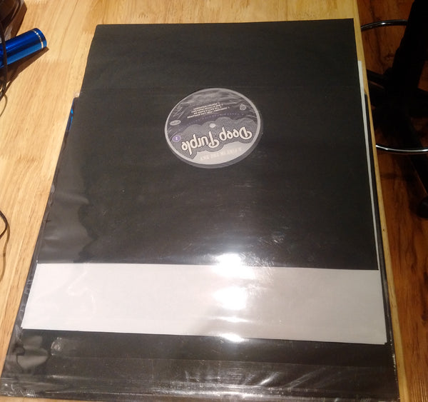 BULK ORDER! 4 mil Dual Pocket LP Vinyl Record Outer Sleeves (RESEALABLE) - Crystal Clear CPP- 500 Sleeves BULK ORDER!