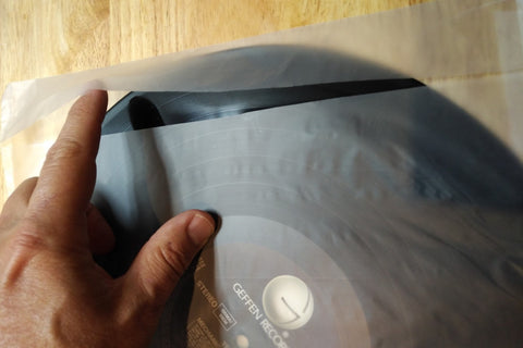 4 mil Inner Record Sleeve- with intergrated Flap-25 sleeves to a pack