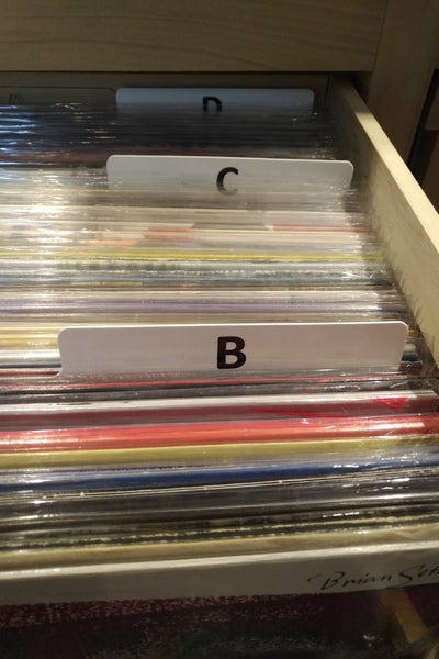Coloured Record Dividers - A to Z