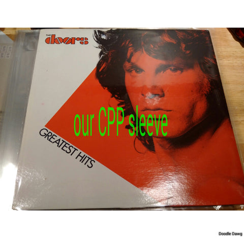 BULK ORDER! 2 mil Dual Pocket LP Vinyl Record Outer Sleeves (RESEALABLE) - Crystal Clear CPP 500 Sleeves BULK ORDER!