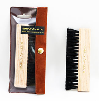 Vinyl Record Goat's Hair brush