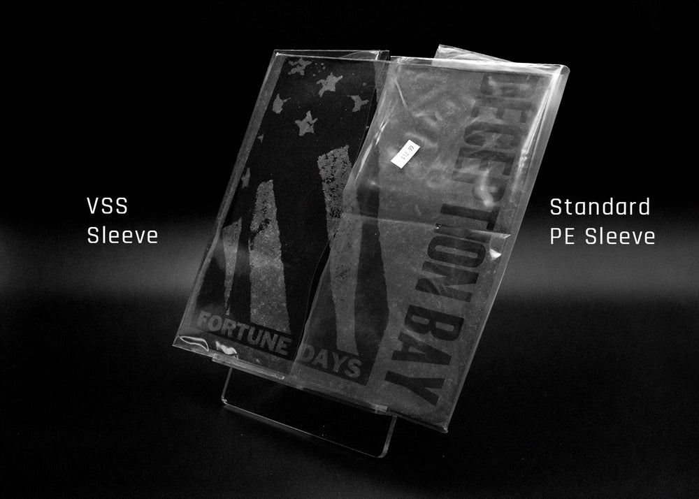 10 inch 4 mil SINGLE Pocket ) Vinyl Record Outer Sleeves - Crystal Clear CPP-25 Sleeves to a pack - WITHOUT A FLAP