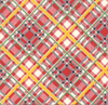 Bubble Pop - Reproduction Bias Plaid Red by American Jane for Moda