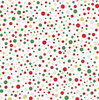 All That Glitters Dots Natural/Gold by Hoffman Fabrics | Christmas