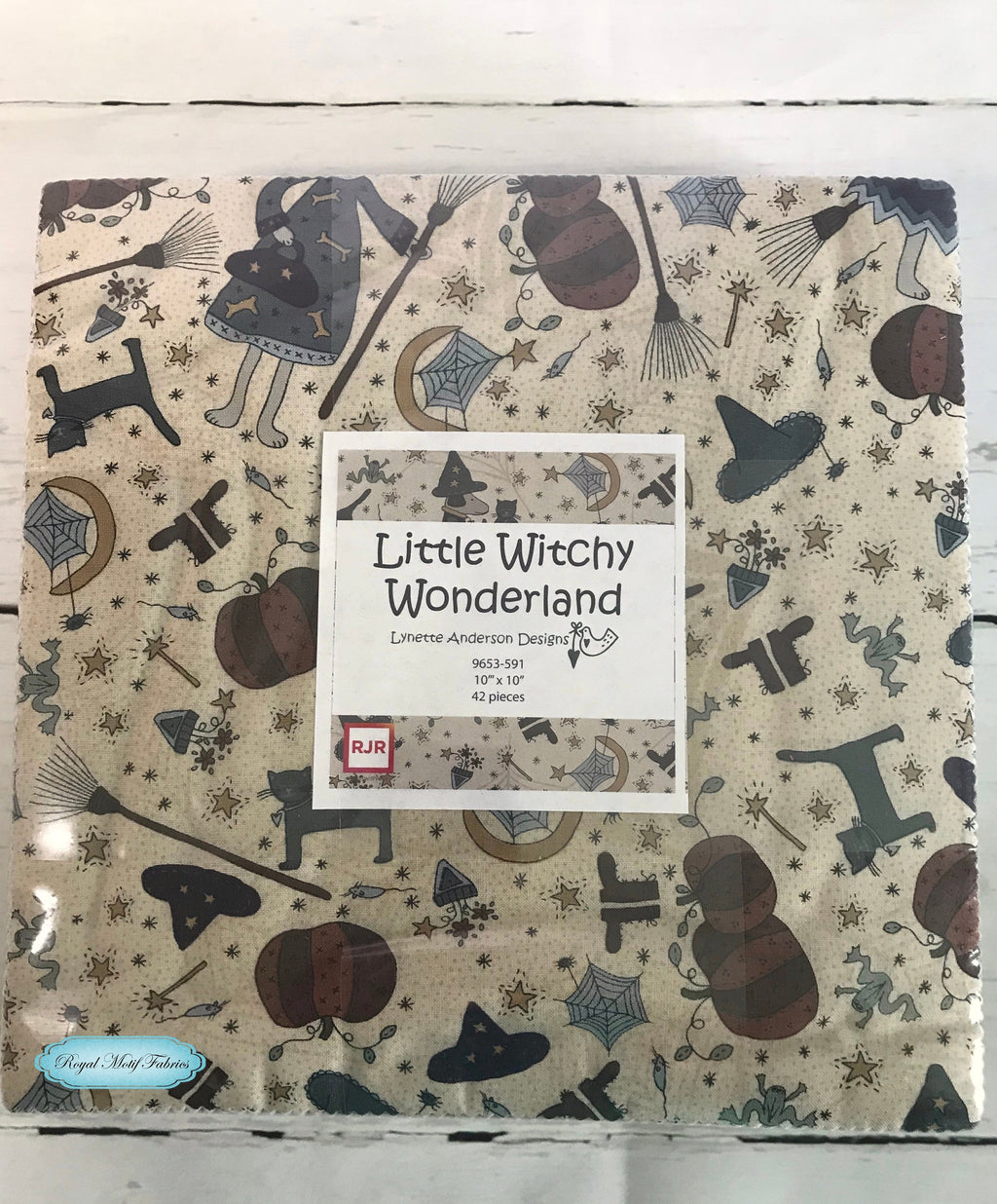 RJR Fabrics - Little Witchy Wonderland Patty Cake/Layer Cake