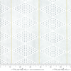Day in Paris Diamonds White Metallic by Zen Chic Moda | Modern Fabrics