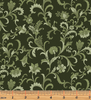 Benartex - Lilacs in Bloom - Vine Scroll Green