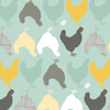 Prairie Sisters Hunt and Peck Mint by Poppie Cotton | Designer Fabrics