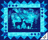 Northcott Studio - Artisan Spirit Imagine - Deer Panel Digital Print