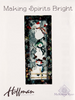 Hoffman Fabrics - Making Spirits Bright Snowman Quilt Kit with Pattern