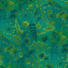 Studio E Fabrics - Feather and Flora - Wildflower Toss Green