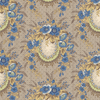 Family Roots Angelica Dusty Blue 3547-002 by RJR | Royal Motif Fabrics